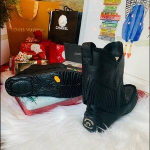 Mukluks manitobah 7 black boots